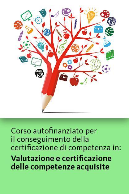 corso valutazione e certificazione delle competenze acquisite