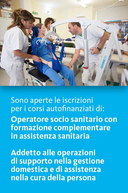 Corso per Operatore socio sanitario e Addetto alla gestione domestica e assistenza alla persona